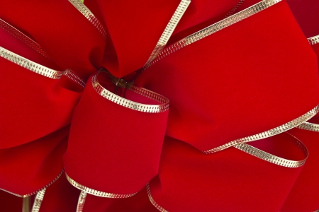 Traditional Red Christmas Ribbon