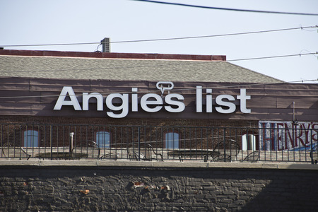 INDIANAPOLIS - CIRCA OCTOBER 2015: Angies List Corporate Office and Headquarters IV