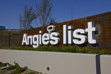 INDIANAPOLIS - CIRCA OCTOBER 2015: Angies List Corporate Office and Headquarters I