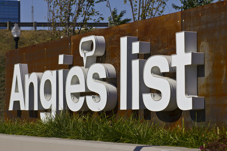 headquarters: INDIANAPOLIS - CIRCA OCTOBER 2015: Angies List Corporate Office and Headquarters Editorial