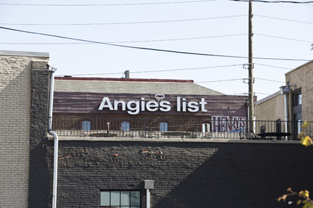 headquarters: INDIANAPOLIS - CIRCA OCTOBER 2015: Angies List Corporate Office and Headquarters II