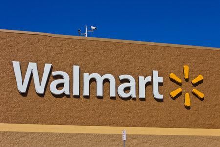 Indianapolis - Circa March 2016: Walmart Retail Location. Walmart is an American Multinational Retail Corporation I Editorial