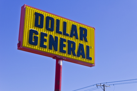 retailer: Indianapolis - Circa March 2016: Dollar General Retail Location. Dollar General is a Small-Box Discount Retailer III