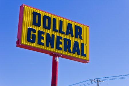 general store: Indianapolis - Circa March 2016: Dollar General Retail Location. Dollar General is a Small-Box Discount Retailer III