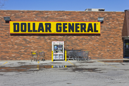 retailer: Indianapolis - Circa March 2016: Dollar General Retail Location. Dollar General is a Small-Box Discount Retailer I