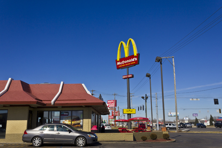 macdonald: Indianapolis - Circa March 2016: McDonalds Restaurant Location.  McDonalds is a Chain of Hamburger Restaurants II Editorial