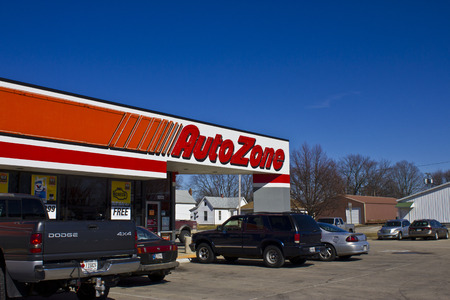 aftermarket: Indianapolis - Circa March 2016: AutoZone Retail Store. AutoZone is a Retailer and Distributor of Automotive Parts I