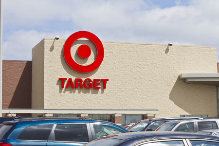 Indianapolis - Circa April 2016: Target Retail Store. Target Sells Home Goods, Clothing and Electronics II