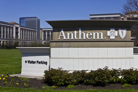 health care provider: Indianapolis - Circa April 2016: Anthem World Headquarters. Anthem is a Trusted Health Insurance Plan Provider III