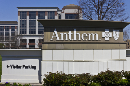 trusted: Indianapolis - Circa April 2016: Anthem World Headquarters. Anthem is a Trusted Health Insurance Plan Provider IV