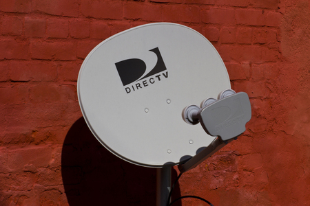 airwaves: Indianapolis, IN - Circa October 2015: The logo of the brand DirecTV I