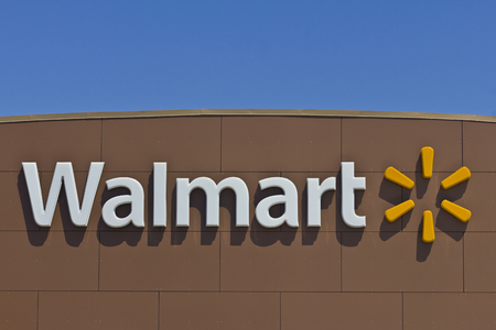 Indianapolis - Circa March 2016: Walmart Retail Location. Walmart is an American Multinational Retail Corporation IV