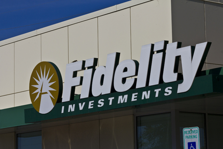 mutual fund: Indianapolis - Circa June 2016: Fidelity Investments Consumer Location. Fidelity is the Fourth Largest Mutual Fund Group in the World IV