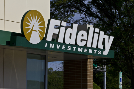 mutual fund: Indianapolis - Circa June 2016: Fidelity Investments Consumer Location. Fidelity is the Fourth Largest Mutual Fund Group in the World I