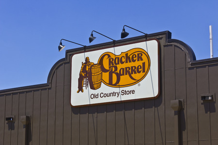 country store: Indianapolis - Circa June 2016: Cracker Barrel Old Country Store Location. Cracker Barrel Serves Homestyle Food I