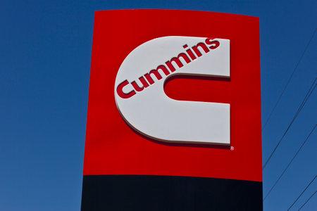 인디애나 폴리스 - Circa June 2016 : Cummins Inc.는 제조업 자입니다 엔진 및 발전 장비 II 에디토리얼