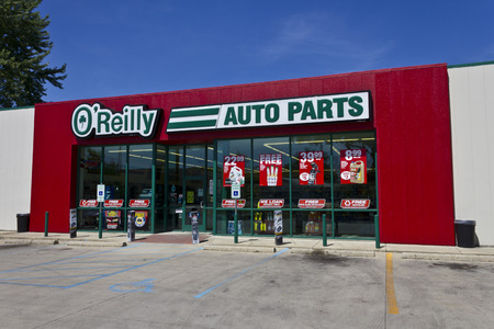 Logansport, IN - Circa June 2016: O'Reilly Auto Parts Store. O'Reilly is a Retailer and Distributor of Automotive Parts II