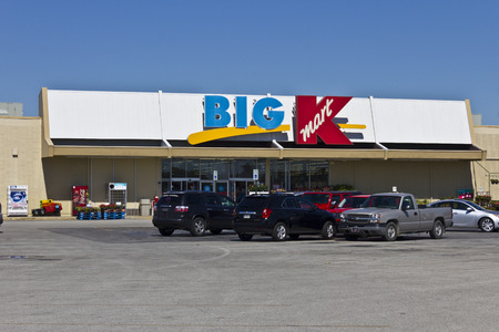 merchandise mart: Indianapolis - Circa June 2016: Kmart Big K Retail Location. Kmart is a Subsidiary of Sears Holdings II Editorial