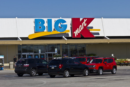 sears: Indianapolis - Circa June 2016: Kmart Big K Retail Location. Kmart is a Subsidiary of Sears Holdings I