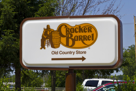 homestyle: Indianapolis - Circa June 2016: Cracker Barrel Old Country Store Location. Cracker Barrel Serves Homestyle Food III