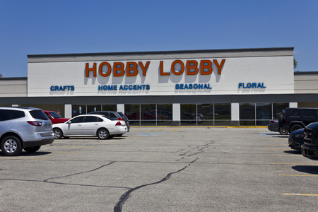 principled: Indianapolis - Circa June 2016: Hobby Lobby Retail Location. Hobby Lobby is a Privately Owned Christian Principled Company II