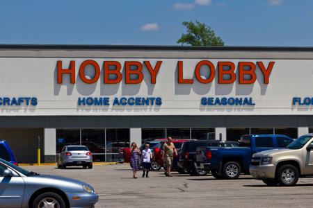 principled: Indianapolis - Circa June 2016: Hobby Lobby Retail Location. Hobby Lobby is a Privately Owned Christian Principled Company I