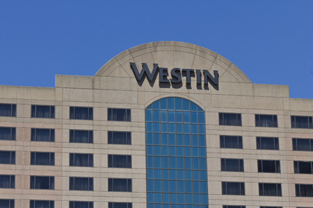 part of me: Indianapolis - Circa June 2016: Downtown Indianapolis Westin Property. Westin is Part of the Starwood Hotel Group I