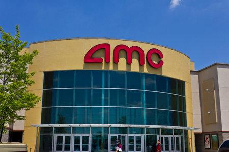 Indianapolis - Circa June 2016: AMC Movie Theater Location. AMC Theaters is an American Movie Theater Chain I