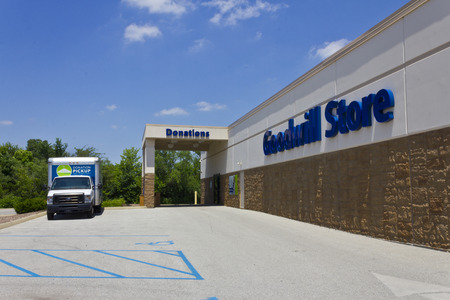 goodwill: Indianapolis - Circa June 2016: A Goodwill Store. In 2015, Goodwill helped more than 26.4 million people train for careers III
