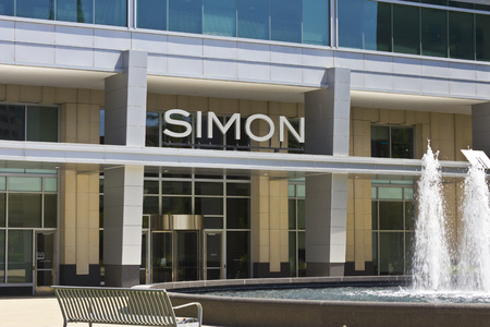 commercial real estate: Indianapolis - Circa June 2016: Simon Property Group World Headquarters. SPG is a Commercial Real Estate Investment Trust (REIT) III