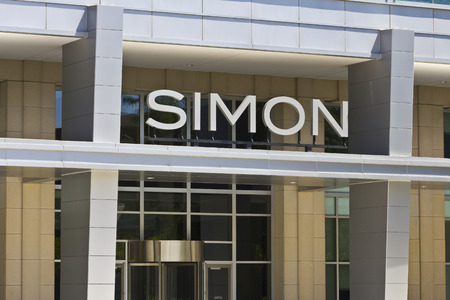 commercial real estate: Indianapolis - Circa June 2016: Simon Property Group World Headquarters. SPG is a Commercial Real Estate Investment Trust (REIT) IV Editorial