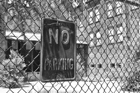 run down: Urban Automotive Blight - Abandoned Automotive Factory - Worn, Broken and Forgotten VIII Stock Photo