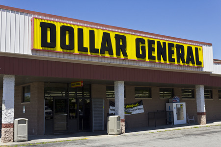 retailer: Indianapolis - Circa June 2016: Dollar General Retail Location. Dollar General is a Small-Box Discount Retailer IV