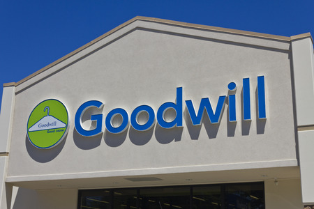 goodwill: Indianapolis - Circa June 2016: A Goodwill Store. In 2015, Goodwill helped more than 26.4 million people train for careers IV Editorial
