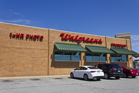 rite: Indianapolis - Circa July 2016: Walgreens Retail Location. Walgreens announced its plans to acquire Rite Aid in a deal worth $17.2 billion II