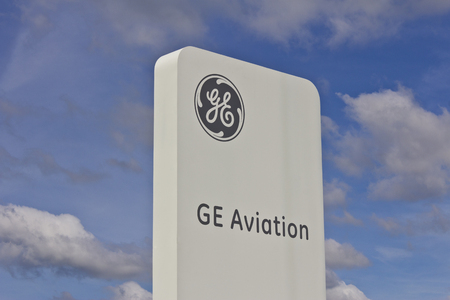 planos electricos: Lafayette, IN - Circa July 2016: General Electric Aviation Facility. GE Aviation is a Manufacturer of LEAP Jet Engines VII