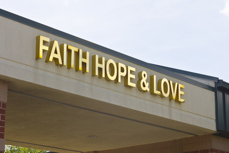 exceptional: Lafayette, IN - Circa July 2016: Faith, Hope & Love Cancer Center - Unity Cancer Center Provides Exceptional, Comprehensive Cancer Care I Editorial