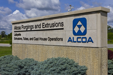 lightweight: Lafayette, IN - Circa July 2016: Alcoa Incorporated Forging and Extrusion Plant. Alcoa is a global leader in lightweight metals technology IV