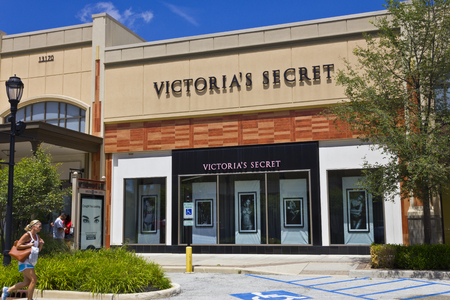 retailer: Indianapolis - Circa July 2016: Victorias Secret Retail Mall Location. Victorias Secret is the Largest American Retailer of Lingerie II Editorial