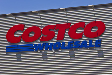 retailer: Ft. Wayne, IN - Circa July 2016: Costco Wholesale Location. Costco Wholesale is a Multi-Billion Dollar Global Retailer IV