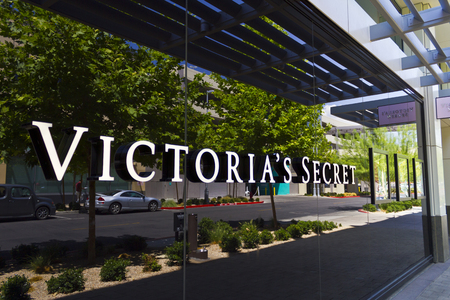 retailer: Las Vegas - Circa July 2016: Victorias Secret Retail Mall Location. Victorias Secret is the Largest American Retailer of Lingerie IV