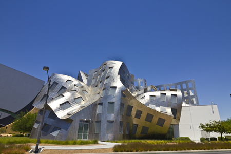 lou: Las Vegas - Circa July 2016:  The Cleveland Clinic Lou Ruvo Center for Brain Health. Designed by the architect Frank Gehry, the clinic opened in 2010 III