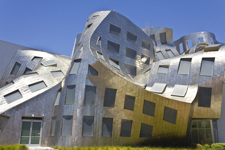 lou: Las Vegas - Circa July 2016:  The Cleveland Clinic Lou Ruvo Center for Brain Health. Designed by the architect Frank Gehry, the clinic opened in 2010 II