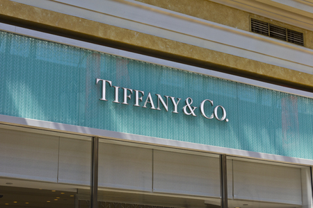 ritzy: Las Vegas - Circa July 2016: Tiffany & Co. Retail Mall Location. Tiffanys is a Luxury Jewelry and Specialty Retailer, Headquartered in New York City II