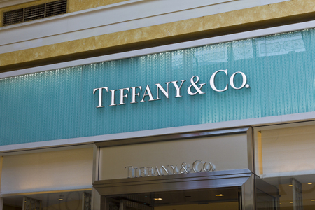 ritzy: Las Vegas - Circa July 2016: Tiffany & Co. Retail Mall Location. Tiffanys is a Luxury Jewelry and Specialty Retailer, Headquartered in New York City III