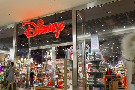 Las Vegas - Circa July 2016: Disney Store Retail Mall Location. Disney Store is the Official Site for Disney Shopping V Editorial