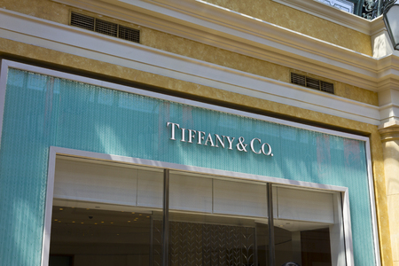 ritzy: Las Vegas - Circa July 2016: Tiffany & Co. Retail Mall Location. Tiffanys is a Luxury Jewelry and Specialty Retailer, Headquartered in New York City I