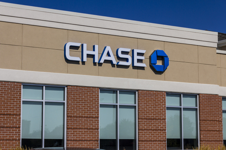 Muncie, IN - Circa July 2016: Chase Bank Retail Location. Chase is the U.S. Consumer and Commercial Banking Business of JPMorgan Chase V