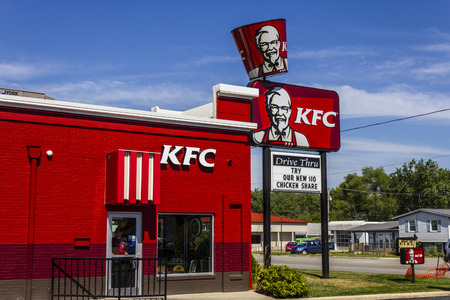 Muncie, IN - Circa July 2016: Kentucky Fried Chicken Retail Fast Food Location. Location. KFC is a Subsidiary of Yum! Brands II Editorial