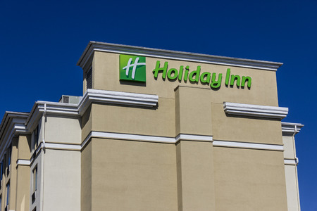 intercontinental: Indianapolis - Circa August 2016: Holiday Inn Location. Holiday Inn is a Subsidiary of InterContinental Hotels Group IV Editorial